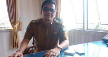 Kepala Dinas Kabupaten Kepahiang Rudi Sihaloho, S.T