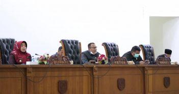 DPRD Kepahiang Bahas Pengesahan  Propemperda tahun 2021.